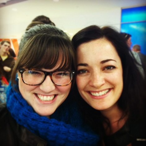 On our flight from New Orleans to New York, I spotted Laura Michelle Kelly—a Broadway star & worship leader with Hillsong. I of course had to meet her, and she couldn't have been any nicer.
