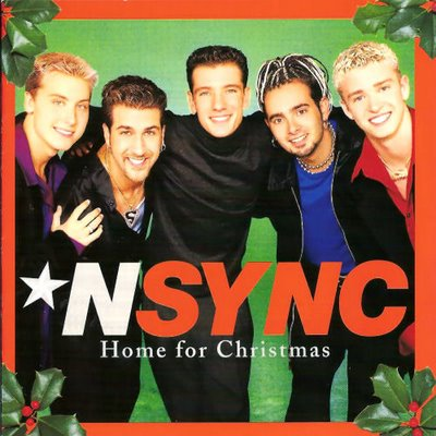 NSYNC-Home_for_Christmas_(album_cover)