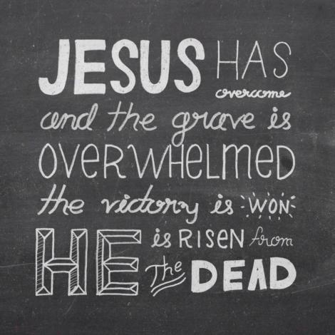 Jesus has Overcome