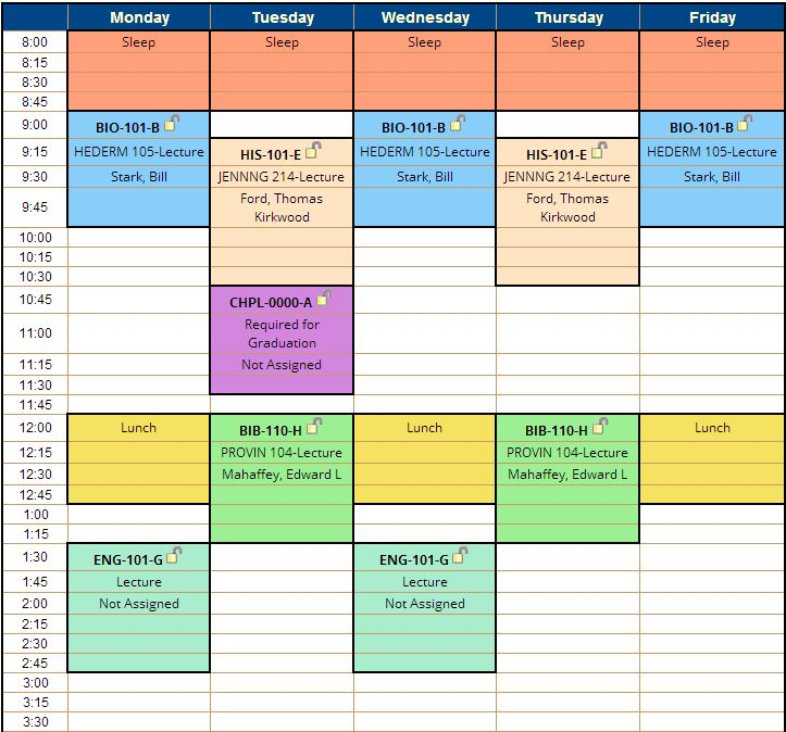 Schedule Planner – A new way to make your class schedule ...