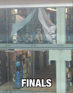 finals camp out